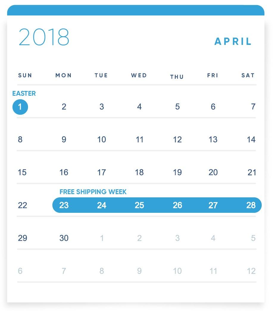 EBANX Holiday Calendar April