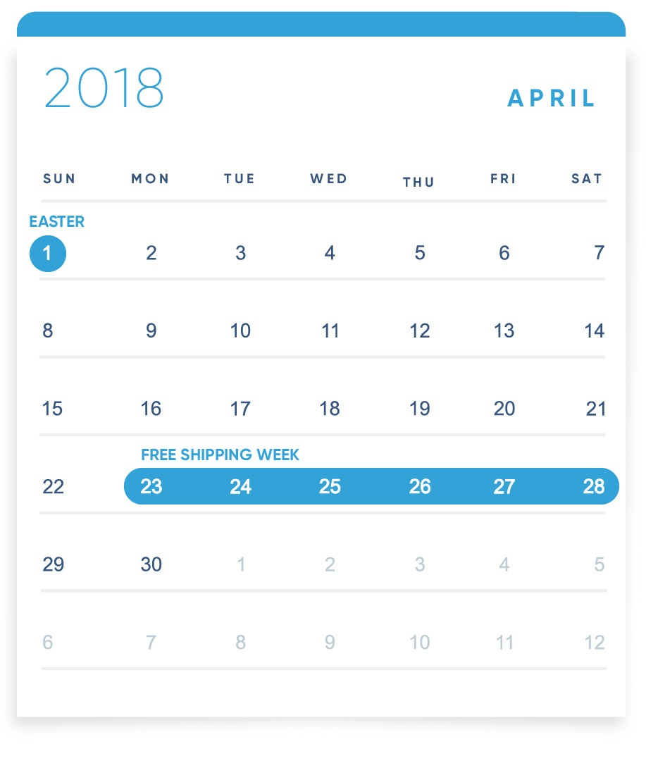 EBANX Holiday Calendar April