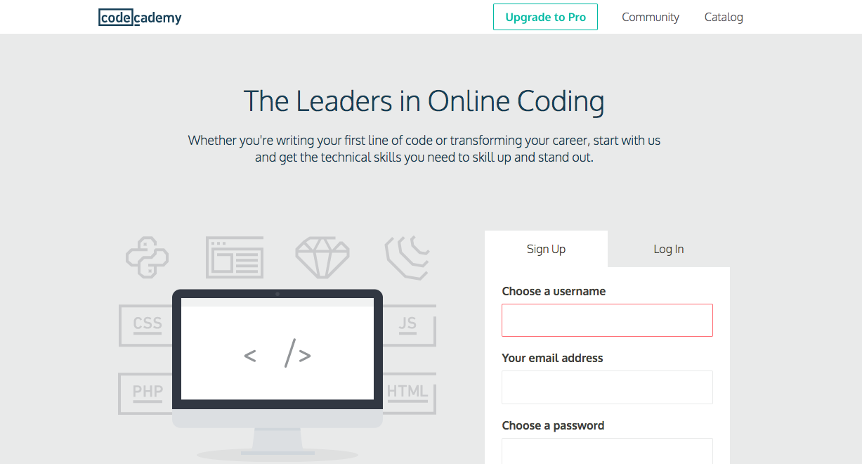 codecademy-online-learning-companies