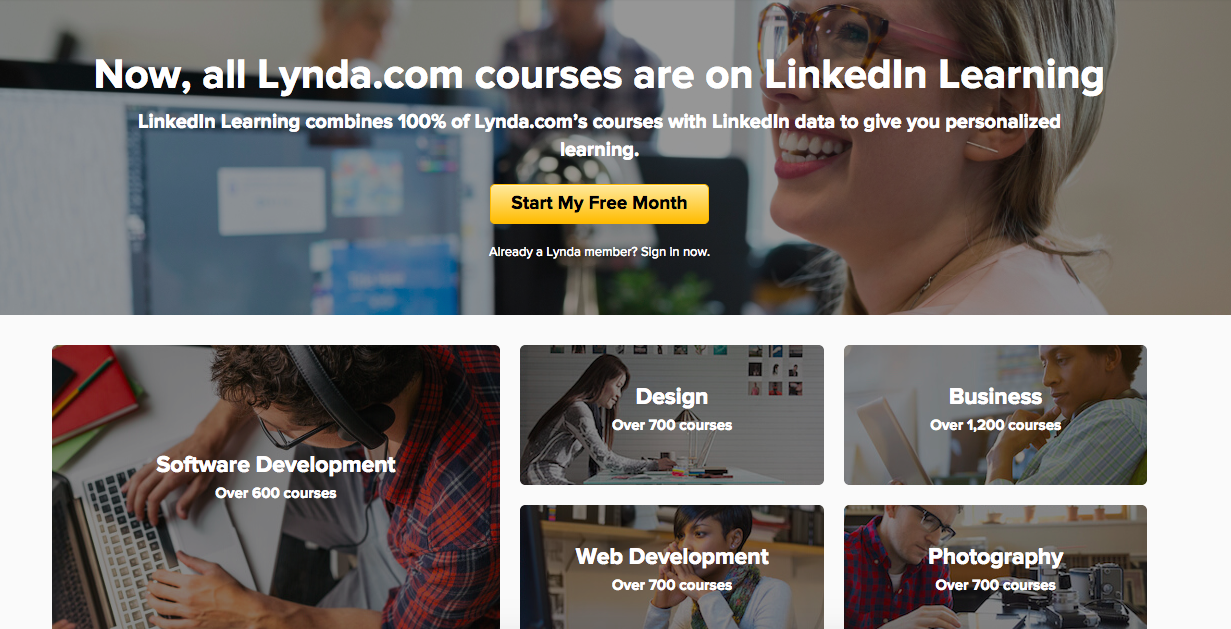 lynda-online-learning-companies