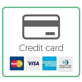 display credit cards clearly
