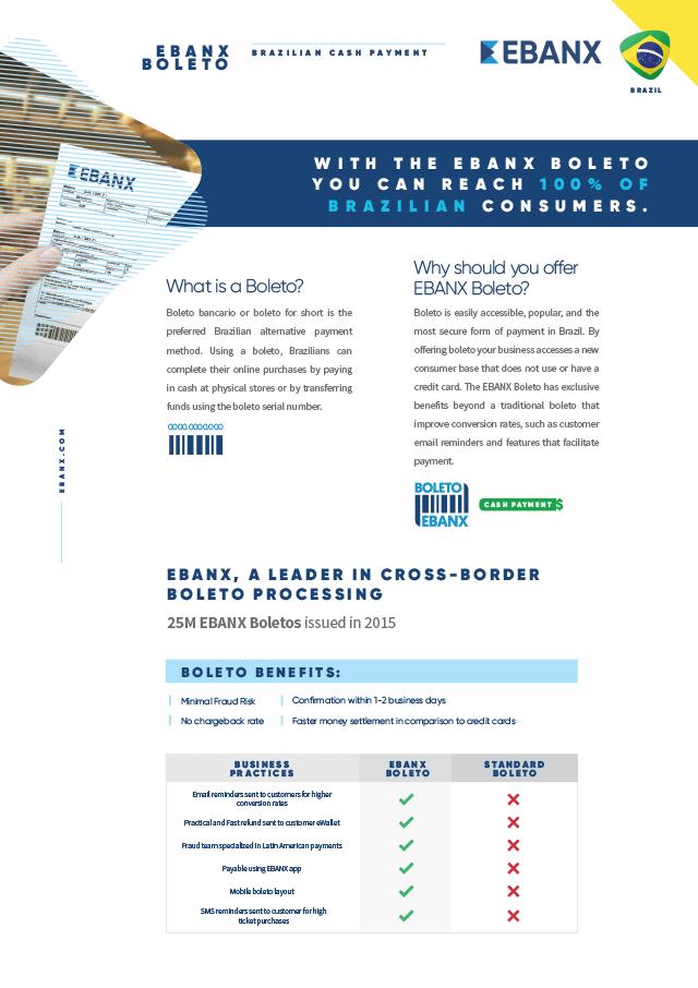 White Paper EBANX Boleto Brazilian Cash Payment