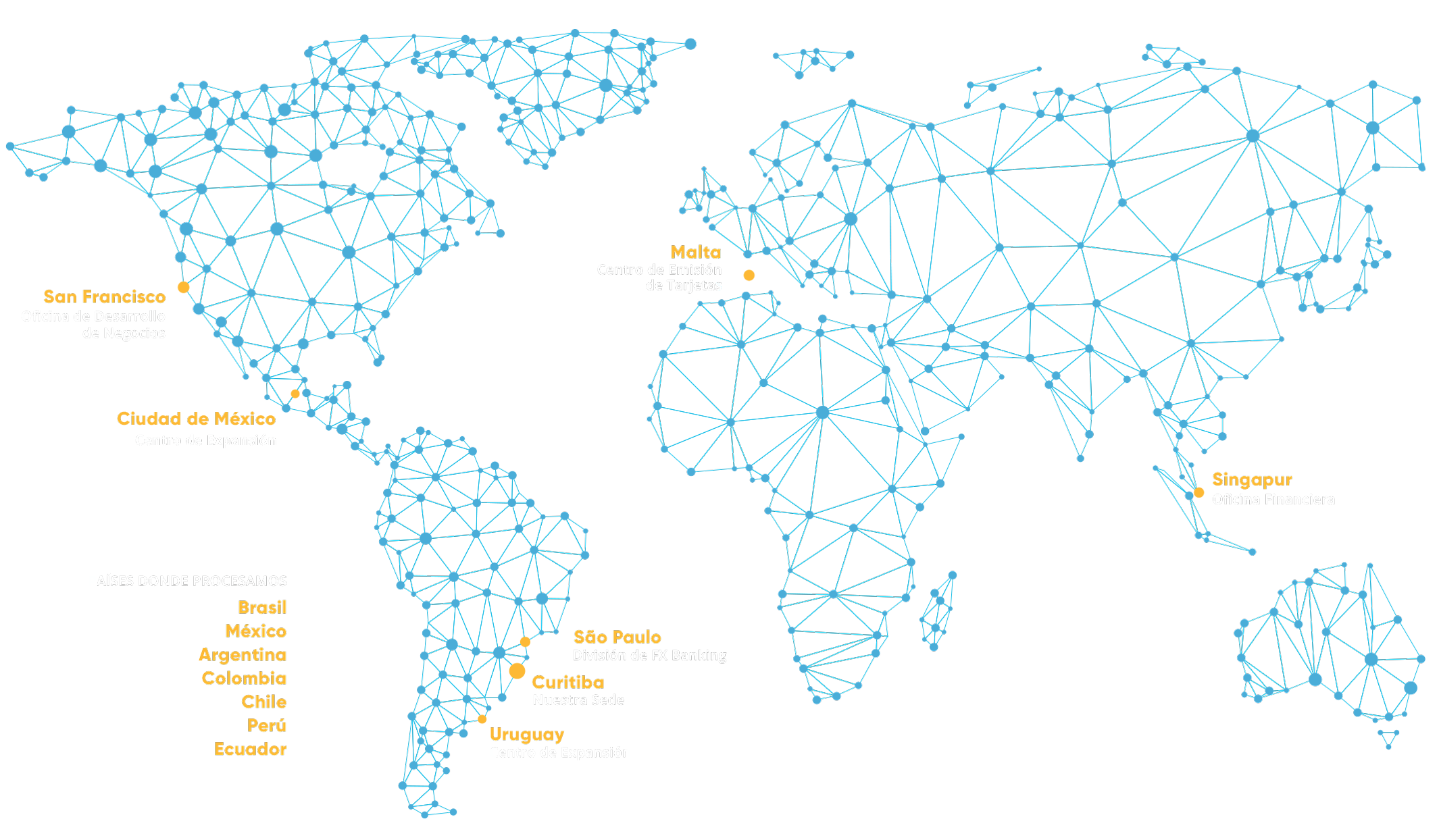 EBANX World Map