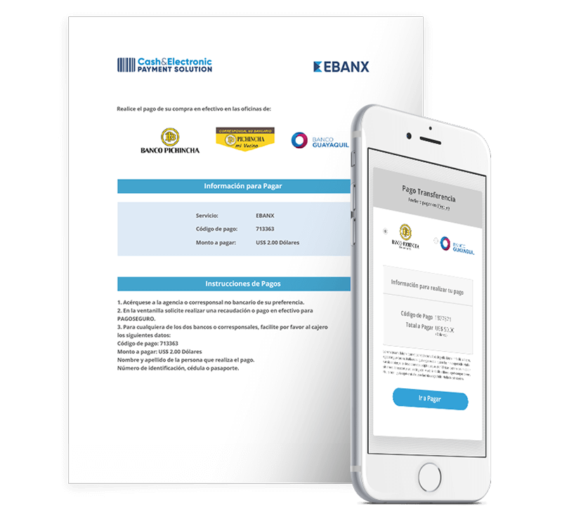Ecuador Cash and Electronic Payment Solution