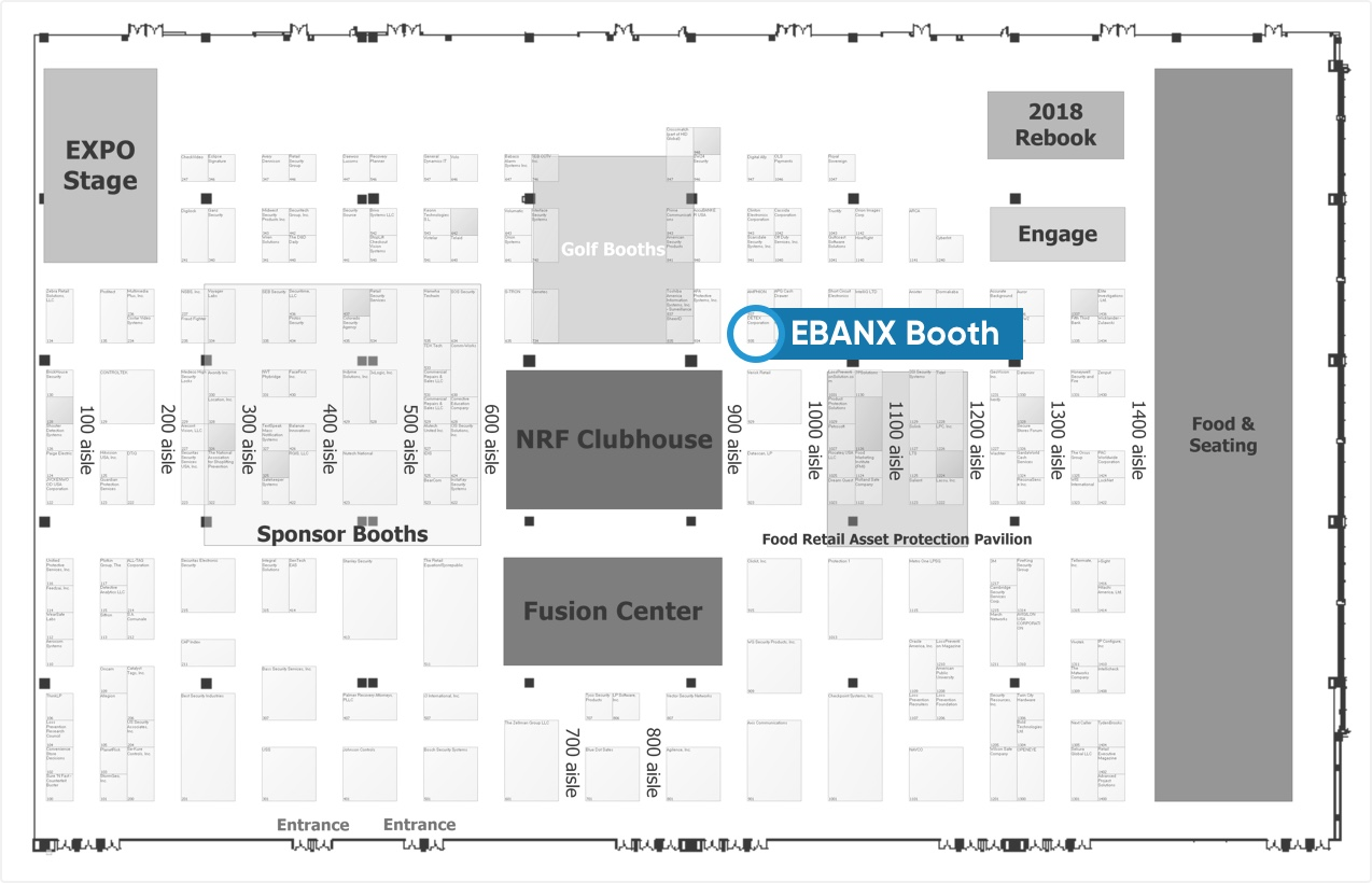 EBANX Booth at Event
