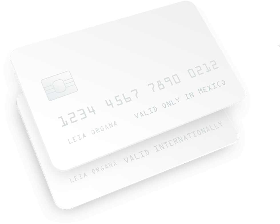 Credit and Debit cards in Mexico