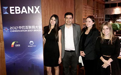 EBANX team at Chinnovation Brazil 2017