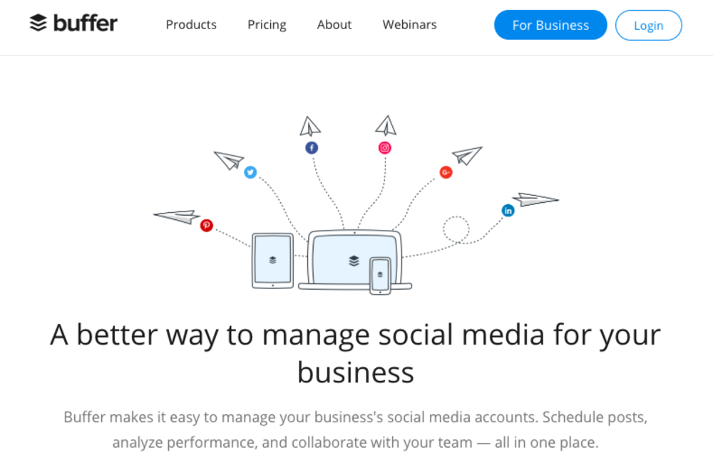social_selling_buffer_labs_page_management