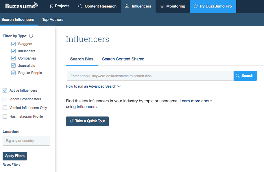 social_selling_buzzsumo_Influencer_tracking