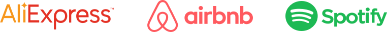EBANX has partnerships with AliExpress, Airbnb and Spotify