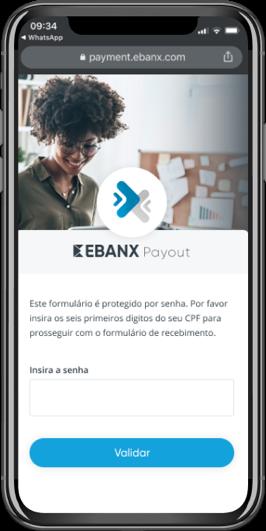 EBANX Payout Mockup