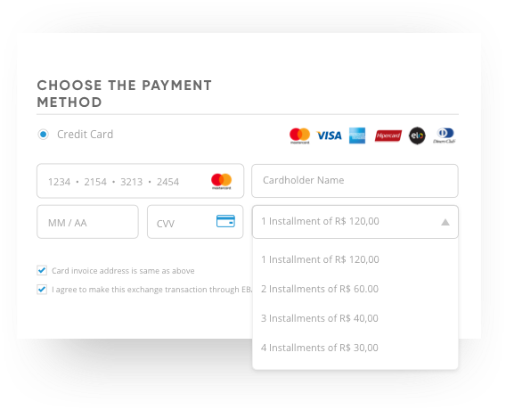 Local payment methods