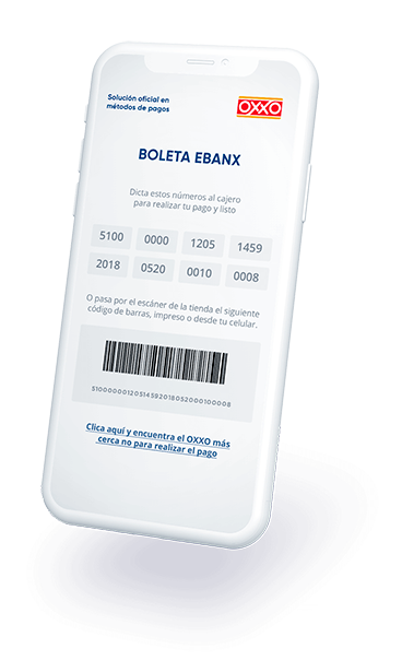 EBANX Responsive OXXO for mobile devices
