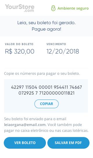 EBANX Mobile Checkout