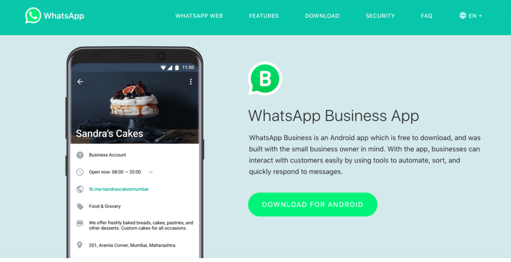 social_selling_whatsapp_business_labs_Direct_Communication_chatbot